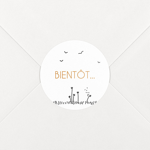Stickers mariage Promesse champêtre blanc - Vue 2