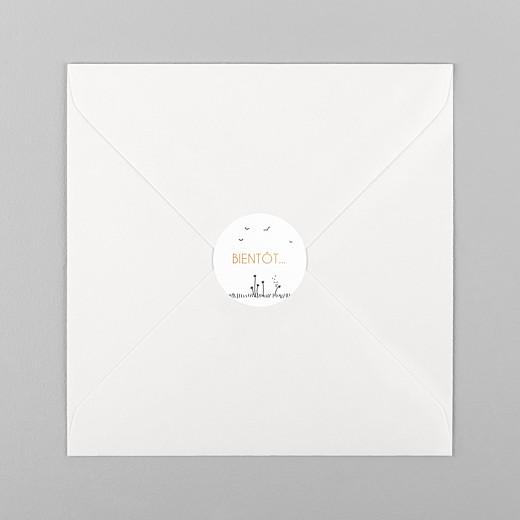Stickers mariage Promesse champêtre blanc - Vue 1