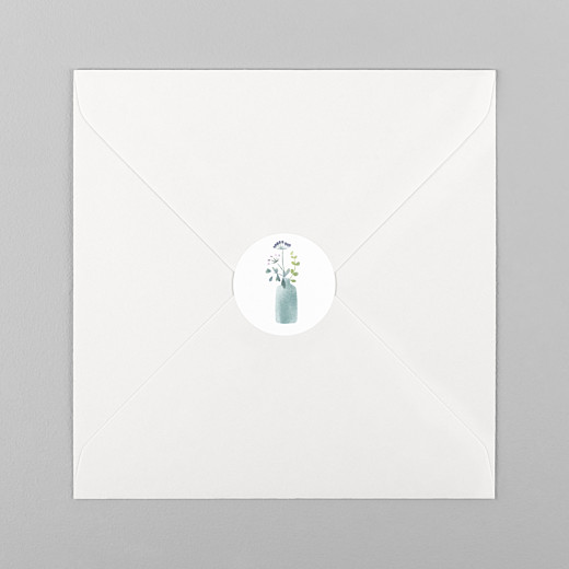 Stickers mariage Bouquet sauvage rose - Vue 1