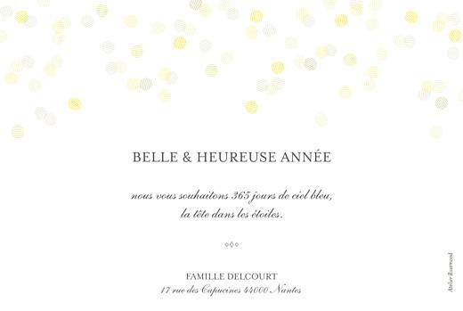 Carte de voeux Polka (dorure) paysage blanc - Page 2