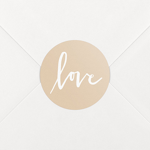 Stickers mariage Lettres d'amour rose - Vue 2