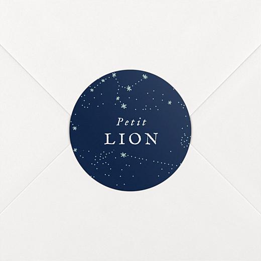Stickers Naissance Univers bleu nuit - Vue 2