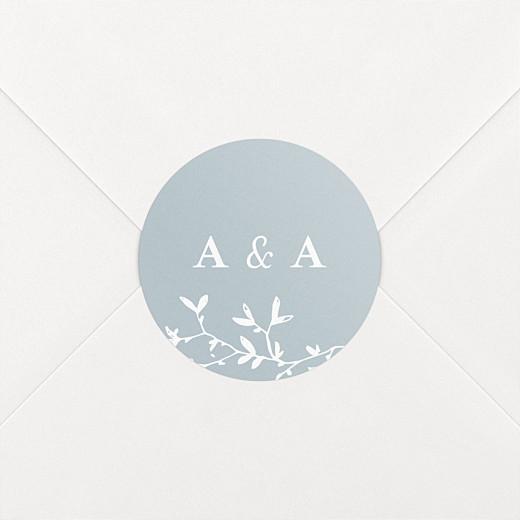 Stickers mariage Reflets dans l'eau vert - Vue 2