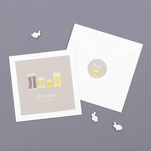 Stickers Naissance Balade jaune - Gamme