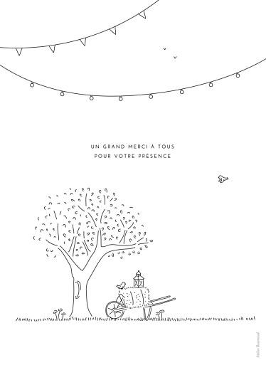 Livret de messe mariage Promesse bohème blanc - Page 4