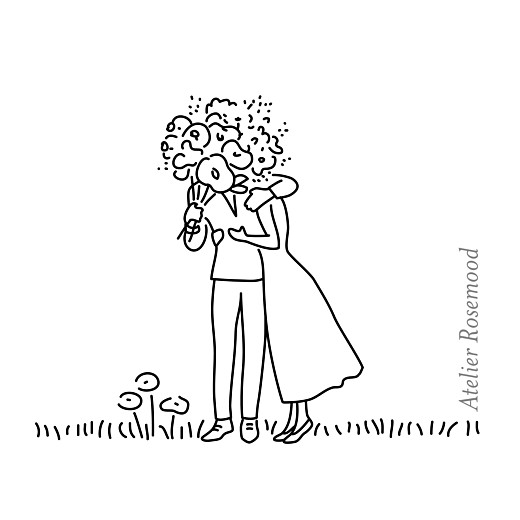 Etiquette perforée mariage Promesse bohème blanc - Page 2