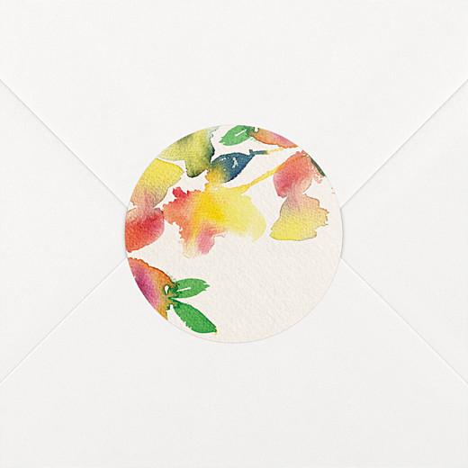 Stickers mariage Bloom beige - Vue 2