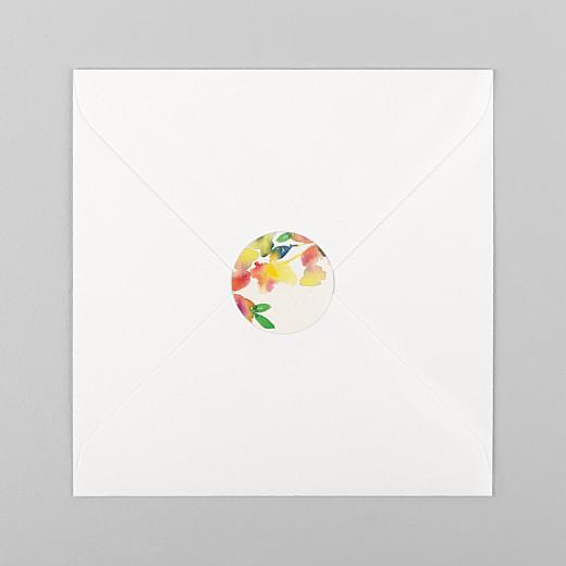 Stickers mariage Bloom beige - Vue 1