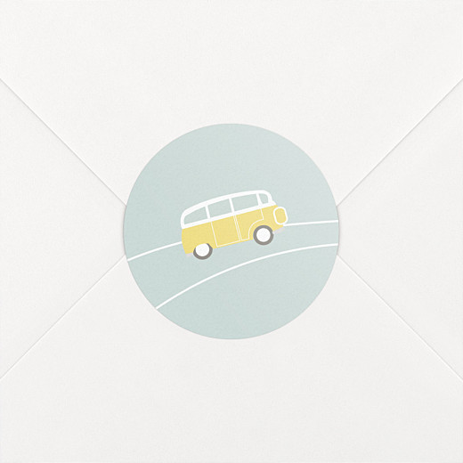 Stickers Naissance Sunshine jade - Vue 2