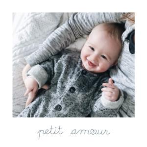 Faire-part de naissance Mots doux (mini format) amour