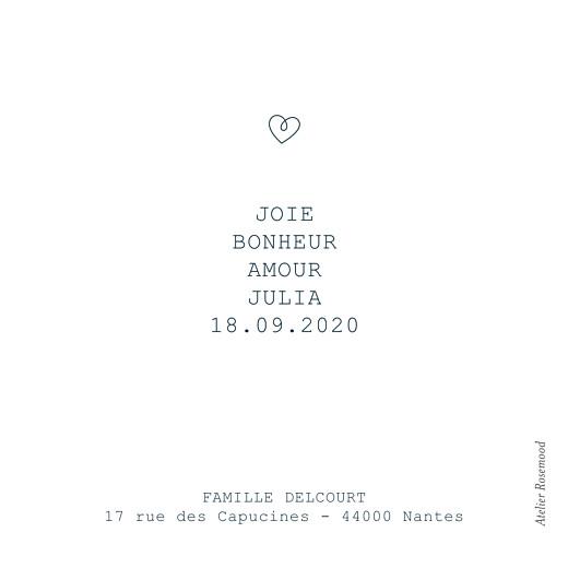 Faire-part de naissance Mots doux (mini format) amour - Page 2