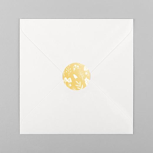 Stickers Naissance Fable jaune - Vue 1
