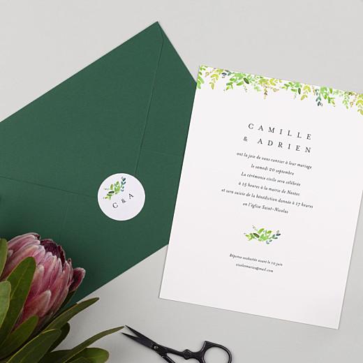 Stickers mariage Canopée vert - Gamme
