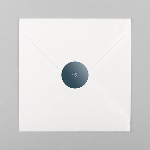 Stickers Naissance Mots doux bleu - Vue 1