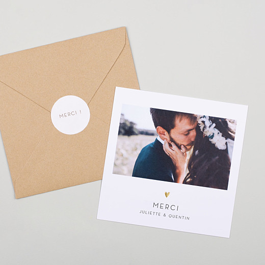 Stickers pour enveloppes mariage Simplement beige - Gamme