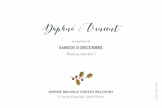 Save the Date Daphné hiver - Page 2
