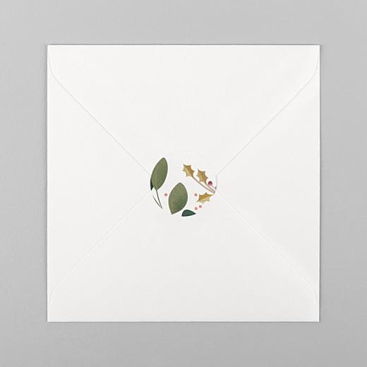 Stickers pour enveloppes naissance Daphné hiver - Vue 1