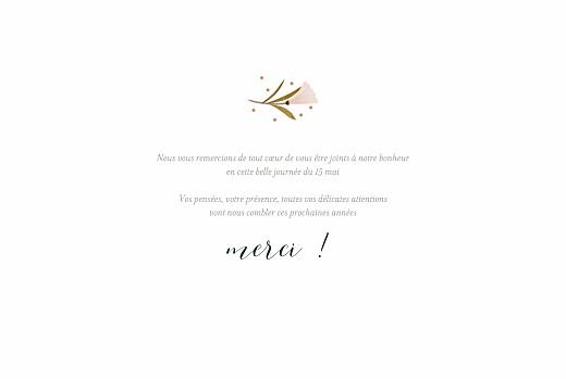 Carte de remerciement mariage Daphné (4 pages) printemps - Page 3