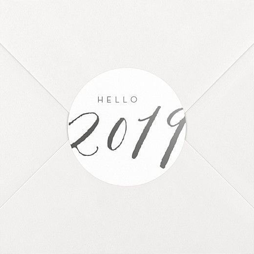 Stickers vœux Little big year 2019 - Vue 2