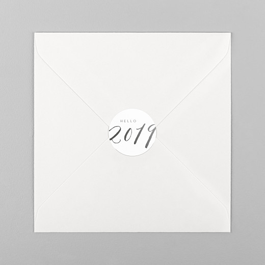 Stickers vœux Little big year 2019 - Vue 1