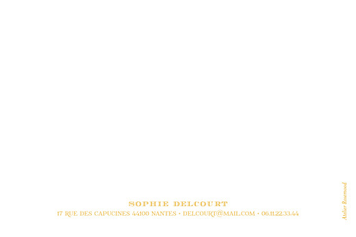 Carte de correspondance Papel picado jaune - Page 2