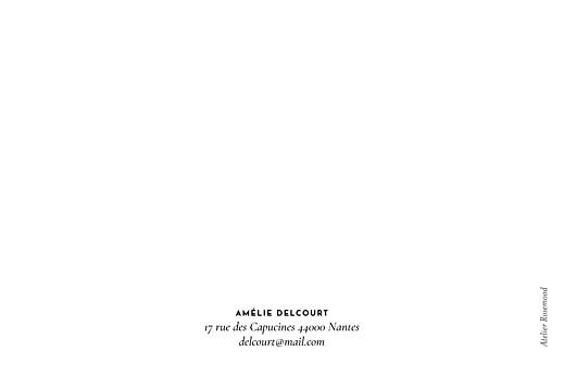 Carte de correspondance Galet rose - Page 2