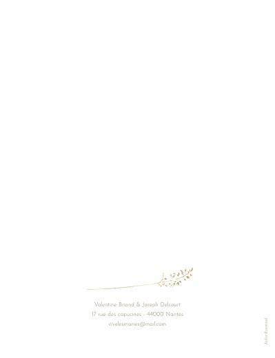 Faire-part de mariage Les hautes herbes portrait sable - Page 2
