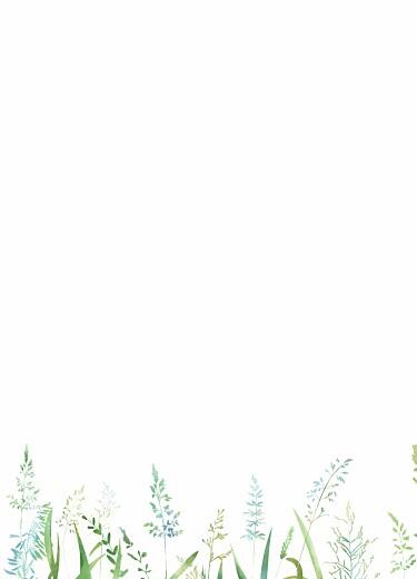 Livret de messe mariage Les hautes herbes vert - Page 3
