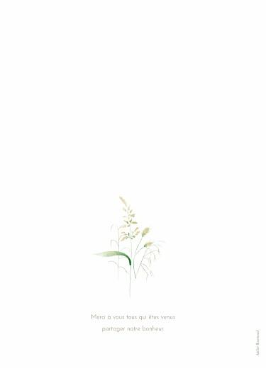 Livret de messe mariage Les hautes herbes vert - Page 4