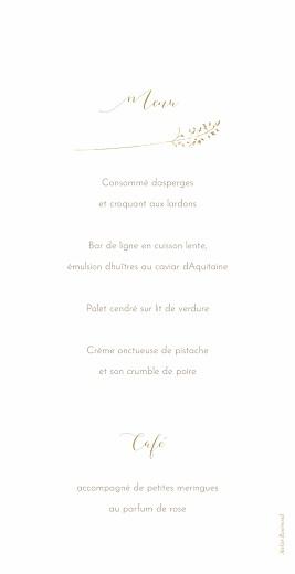 Menu de mariage Les hautes herbes sable - Page 2