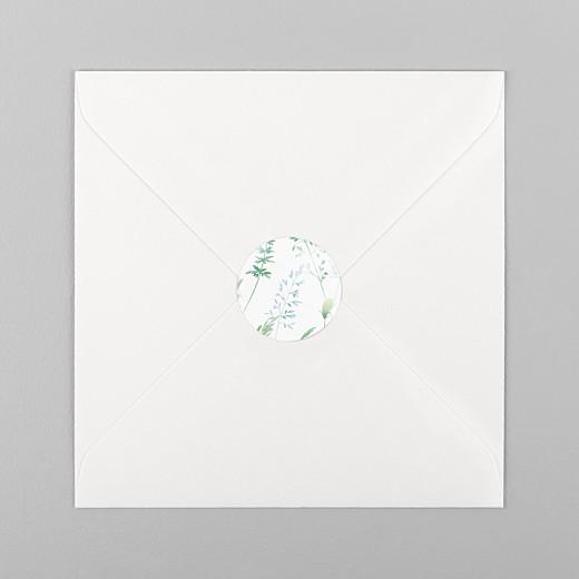 Stickers mariage Les hautes herbes vert - Vue 1