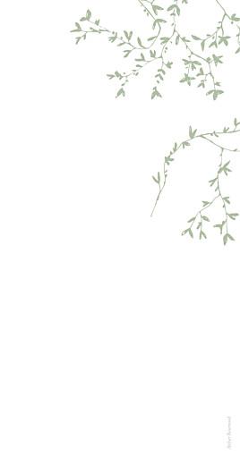 Menu de mariage Reflets dans l'eau vert clair - Page 4