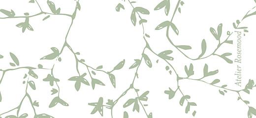 Etiquette de mariage Reflets dans l'eau vert clair - Page 2