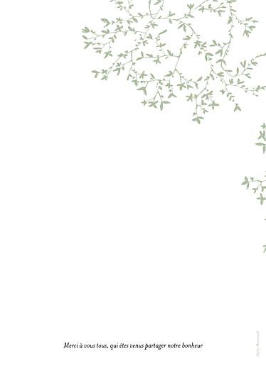 Livret de messe mariage Reflets dans l'eau vert clair - Page 4