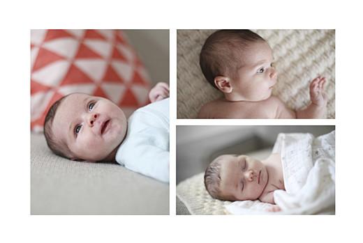 Faire-part de naissance Winter family (1 enfant) 1 - Page 2