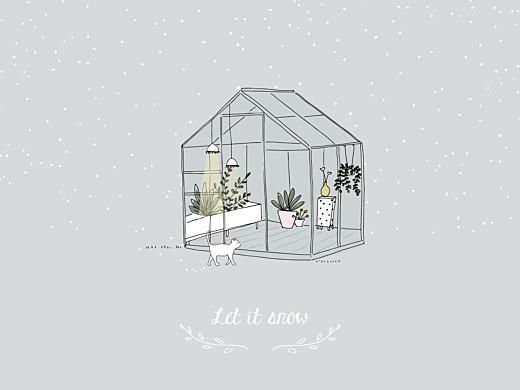 Affichette Jardin d'hiver gris - Page 1