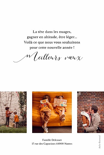 Carte de voeux Little big year blanc - Page 2
