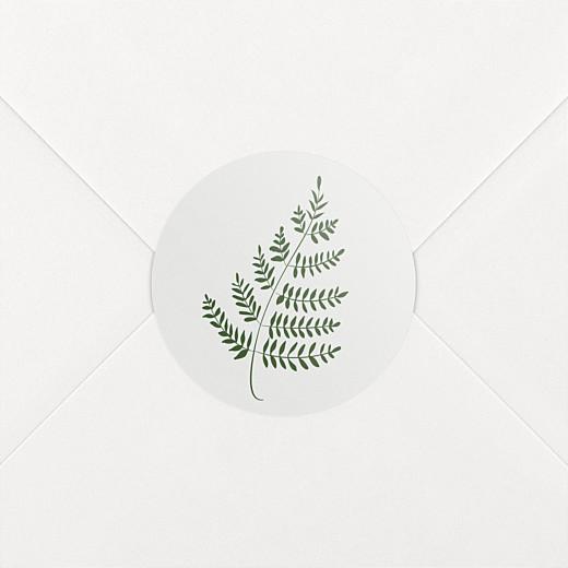 Stickers mariage Joli sous-bois gris - Vue 2