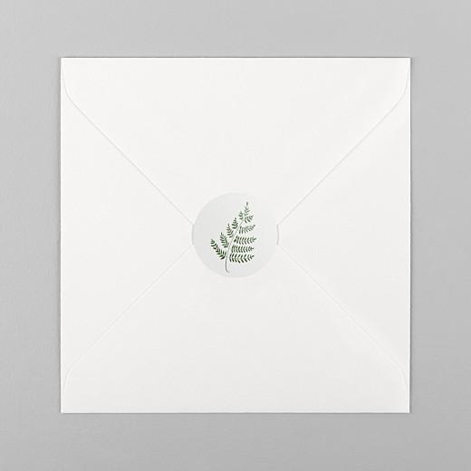 Stickers mariage Joli sous-bois gris - Vue 1