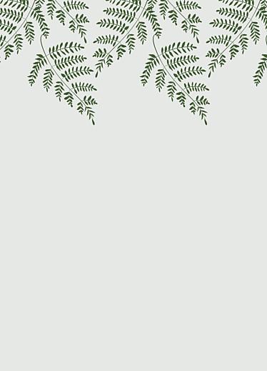 Livret de messe mariage Joli sous-bois vert - Page 2