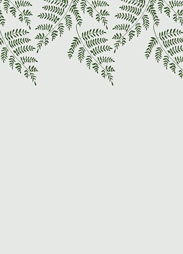 Livret de messe mariage Joli sous-bois vert - Page 3