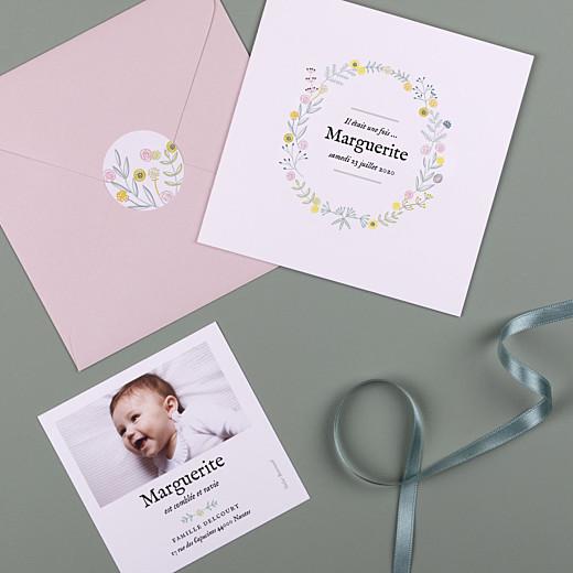 Stickers Naissance Douceur champêtre blanc - Gamme
