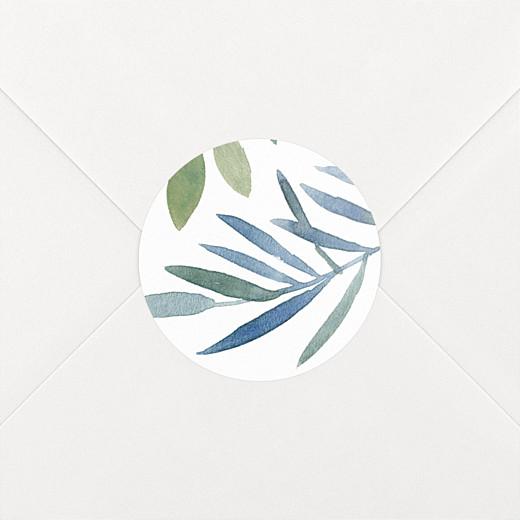 Stickers mariage Belle saison blanc - Vue 2