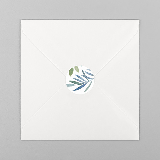 Stickers mariage Belle saison blanc - Vue 1
