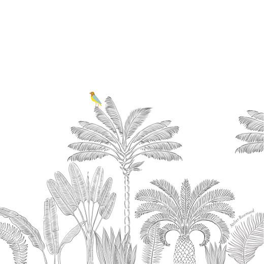 Faire-part de naissance Oiseaux de paradis blanc - Page 4