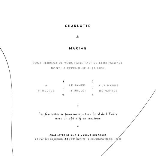 Faire-part de mariage Le fil (4 pages) vert - Page 3