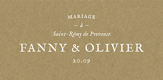 Marque-place mariage Provence kraft - Page 4