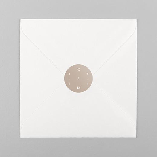 Stickers mariage Le fil beige - Vue 1