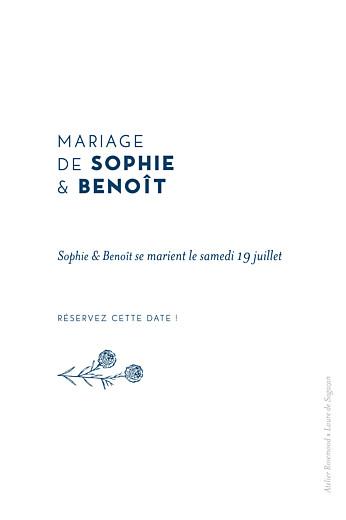 Save the Date Laure de sagazan bleu - Page 2
