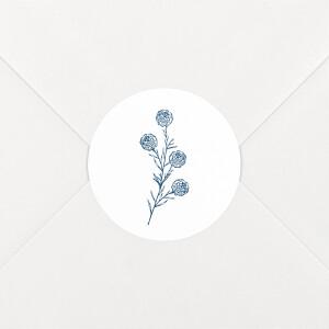 Stickers pour enveloppes mariage Laure de sagazan blanc